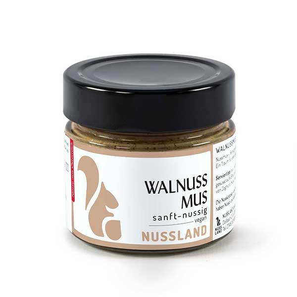 Walnuss-Mus 'sanft nussig'