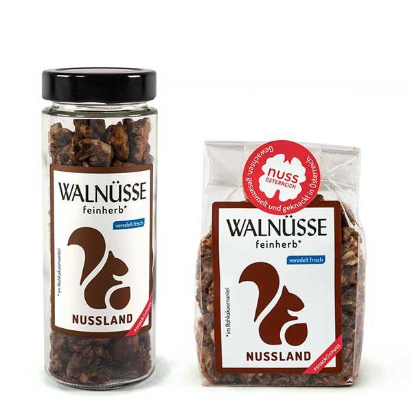 Walnuss-Snack Feinherb