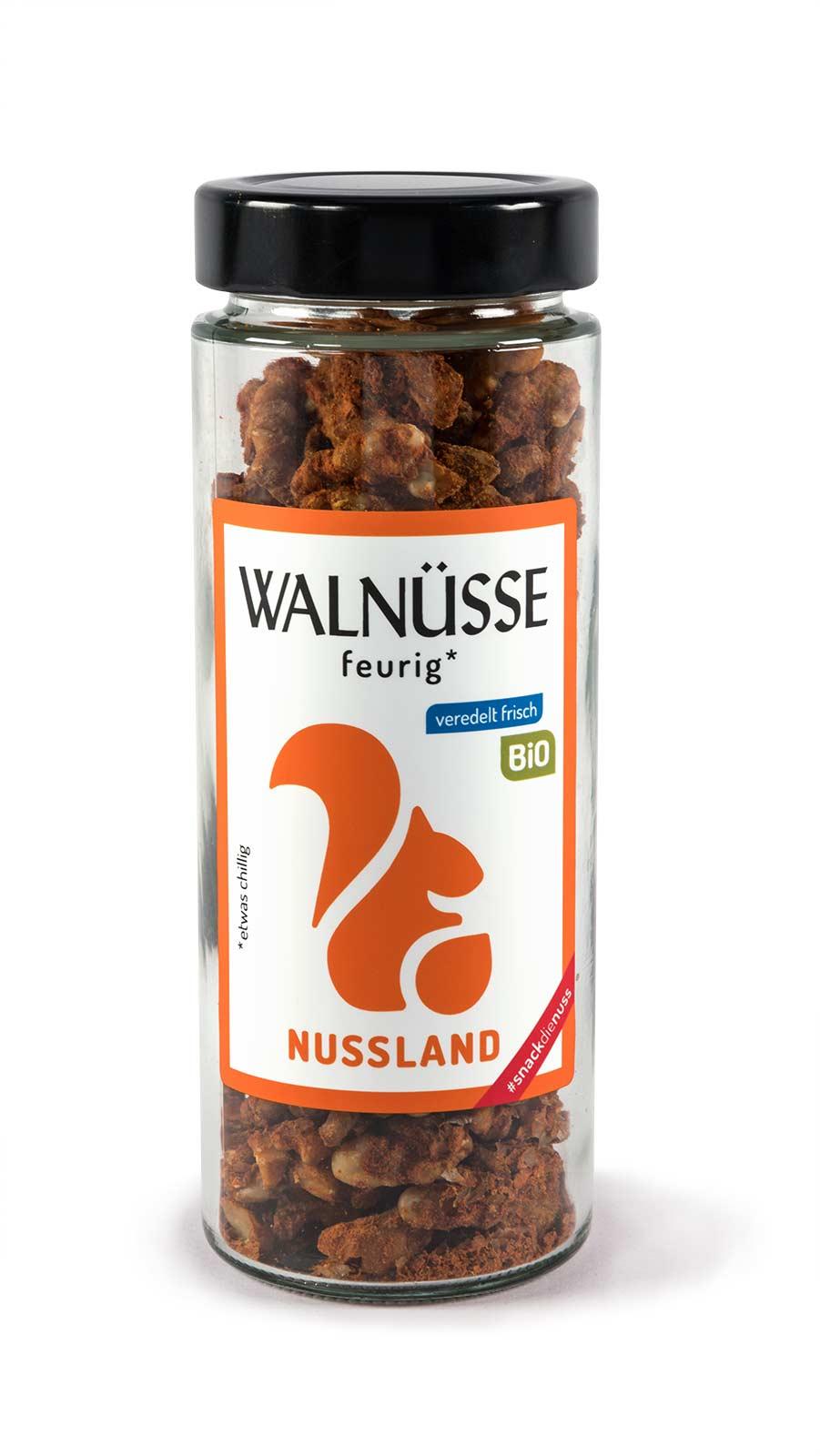 BIO Walnuss-Snack 'Feurig'
