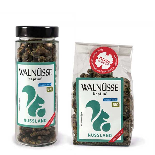 Walnuss-Snack Neptun BIO