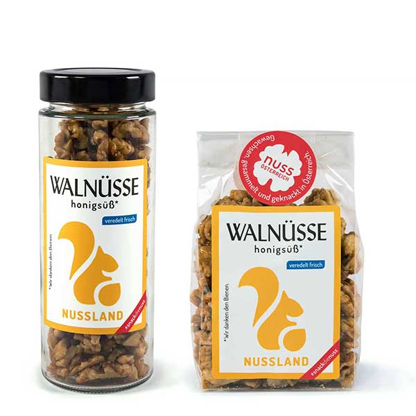 Walnuss-Snack Honigsüß