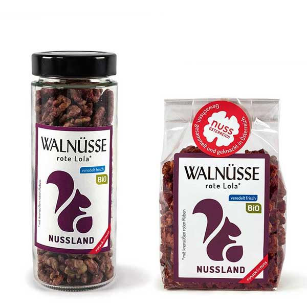 Walnuss-Snack rote Lola BIO