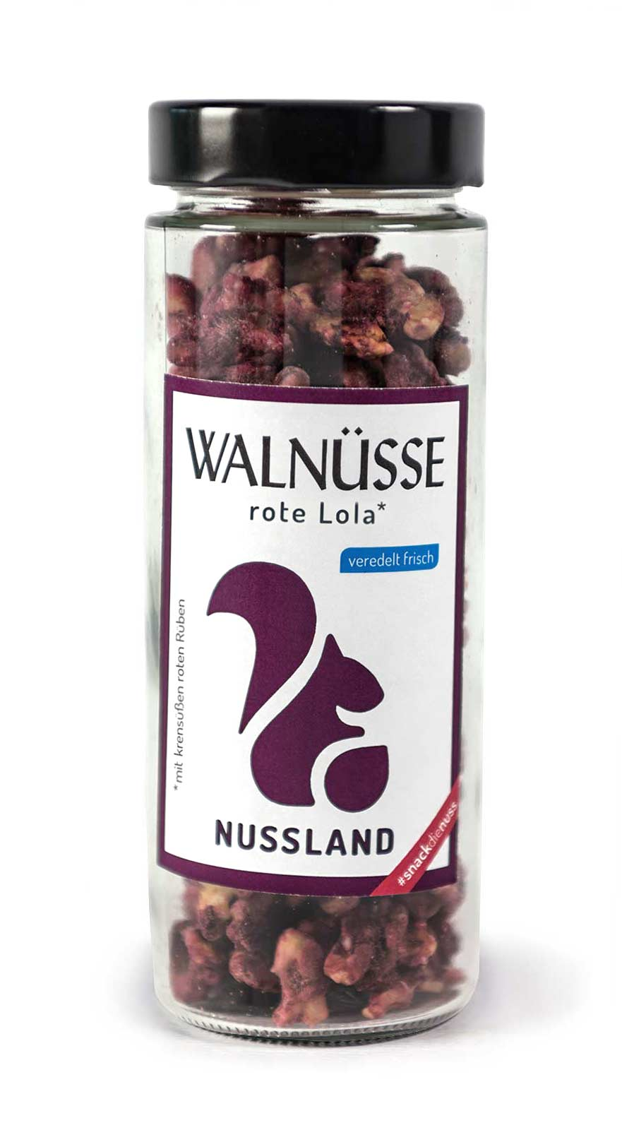 Walnuss-Snack 'rote Lola'